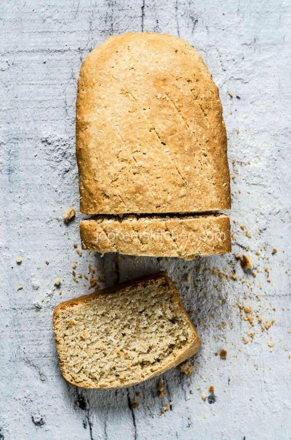 Coconut Bread Recipe #jopreetskitchen #foodphotography