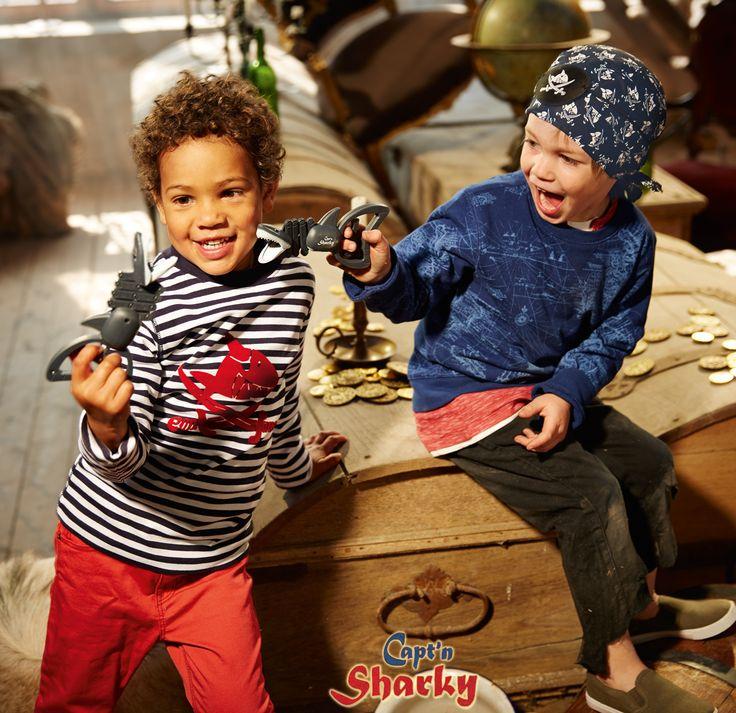 Spielzeug und Textilien von Capt'n Sharky.