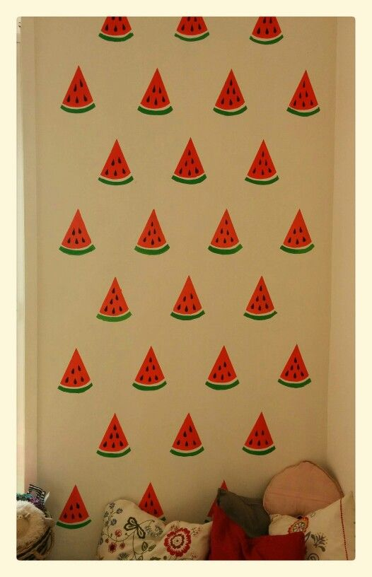 Wall decor watermelon :)