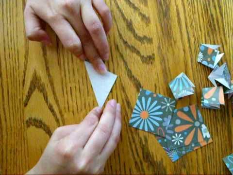 Tea bag folding flowers part 1