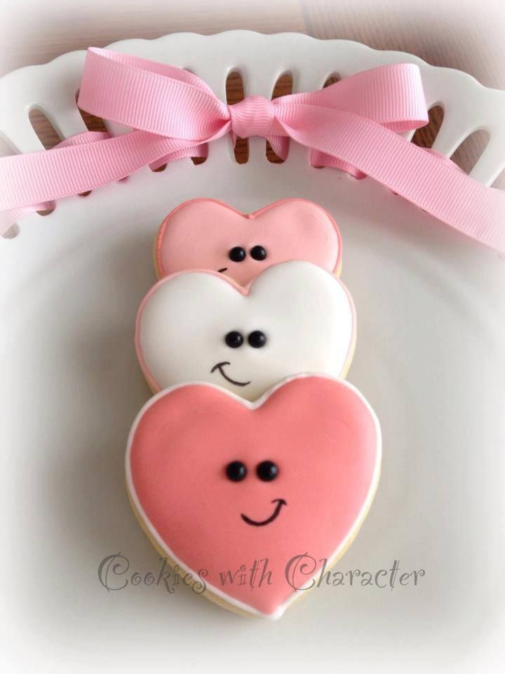 1000+ images about Heart Cookies on Pinterest | Valentine cookies ...
