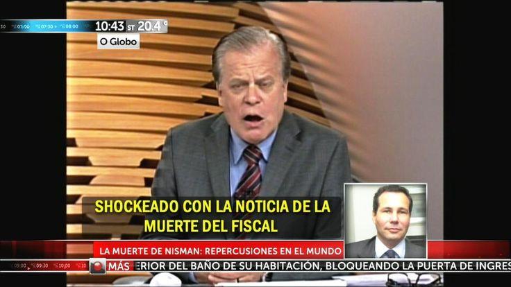 Así reflejaron los medios del mundo la muerte del fiscal Alberto Nisman http://www.eltrecetv.com.ar/arriba-argentinos/asi-reflejaron-los-medios-del-mundo-la-muerte-del-fiscal-alberto-nisman_07_074919…