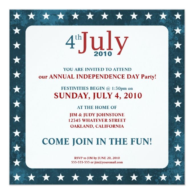 810 best Patriotic Invitations images on Pinterest Invitation - fundraiser invitation templates