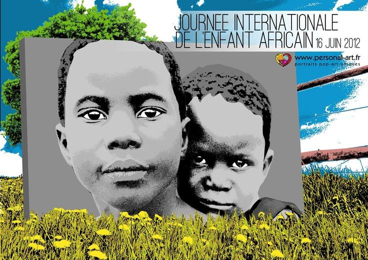 Journée Mondiale de l'enfant Africain  16 juin 2012  par www.personal-art.fr