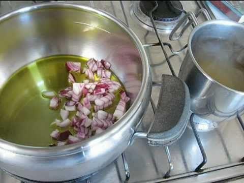 Risotto tipo milanese con la pentola a pressione - ricetta vegetariana