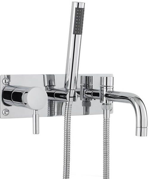 Hudson Reed Wall Mounted Bath Shower Mixer Tap GBP101