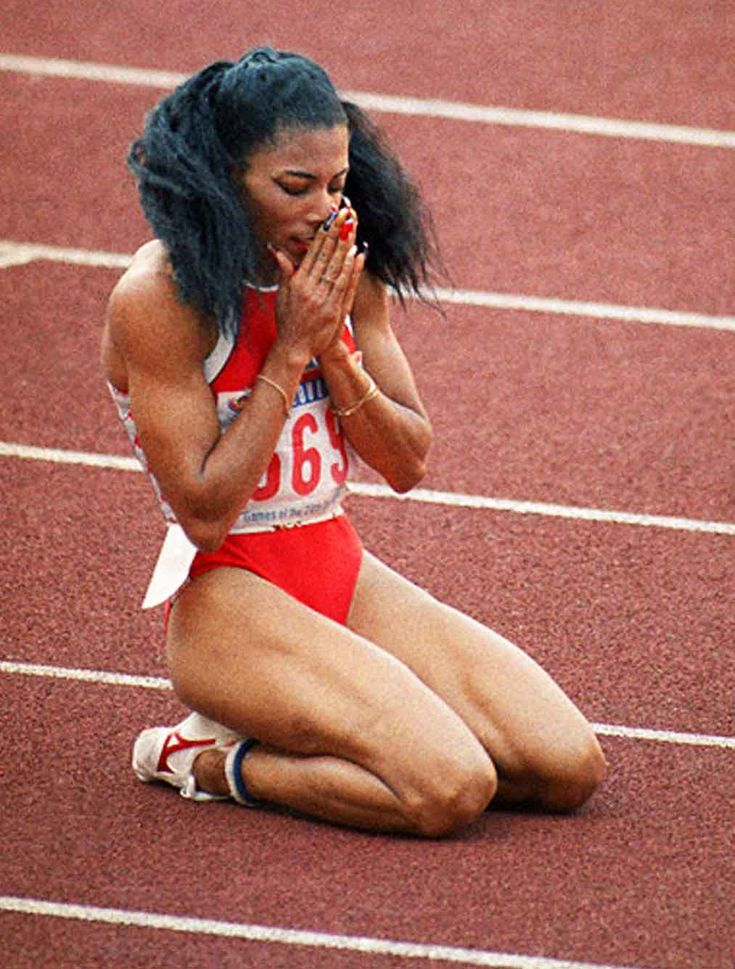 Florence Delorez Griffith-Joyner (December 21, 1959 – September 21, 1998)...Flo Jo  Gone Way too Soon.  Inspired many. . .