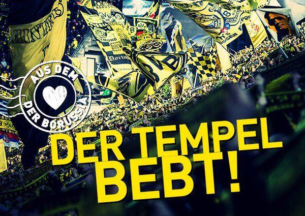 Der Tempel bebt! Die Abspannung wächst... Der Klassiker BVB-FCB 05.03.2016