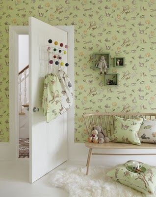 Quentin Blake wallpaper and fabric collection!
