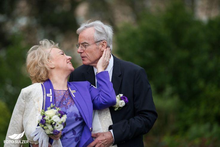 Romantik bei Hochzeit in Mirabell, Salzburg