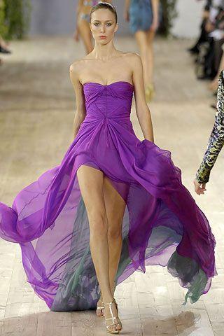 By Emanuel Ungaro2007 Readytowear, Shades Of Purple, Bridesmaid Dresses, Emanuel Ungaro, Gorgeous Dresses, Romantic Dresses, Chiffon Dresses, Dreams Wardrobes, Red Carpets Dresses