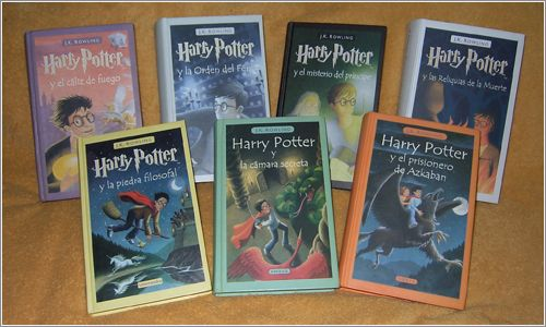 Harry Potter 1-7 - J.K. Rowling