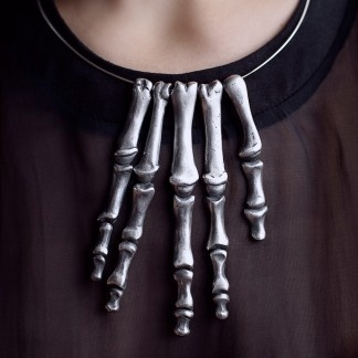 Cabinet Oseo Hand Necklace  by Cabinet Oseo   $1,297.00