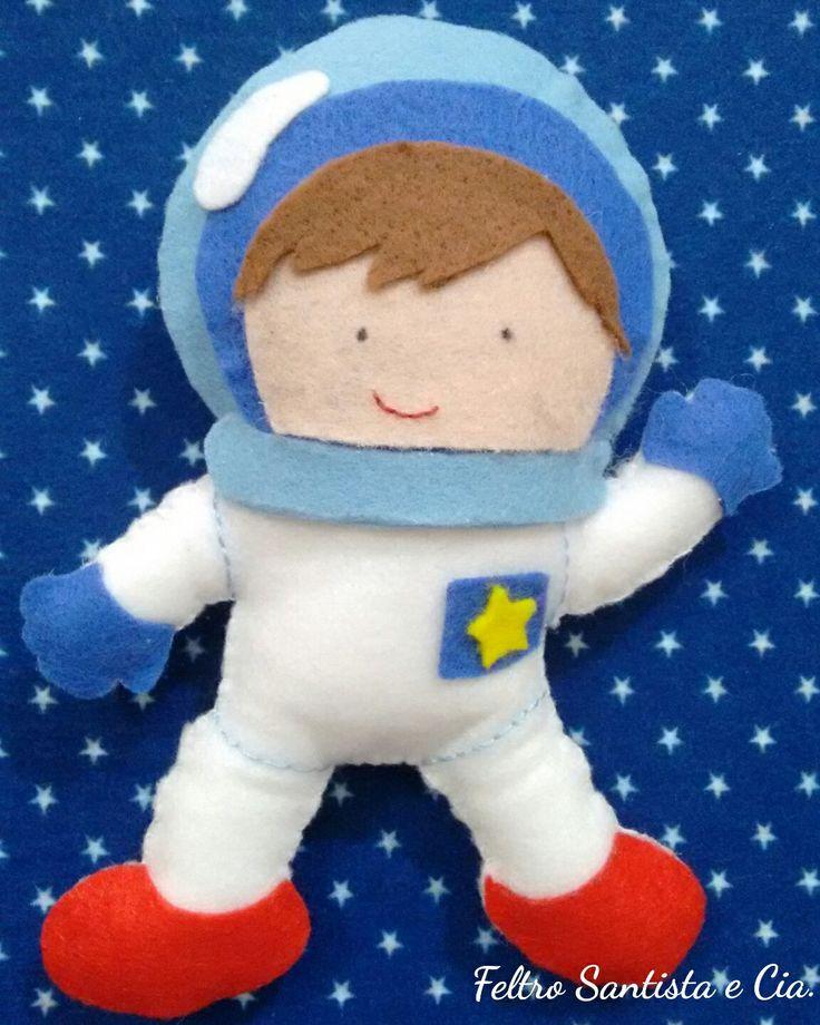 Astronauta prontinho para a missão!