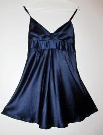 sweet satin sleep gown dress
