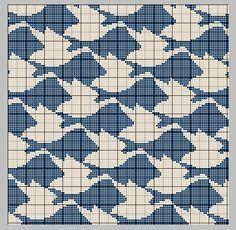 Afbeeldingsresultaat voor free escher knitting patterns