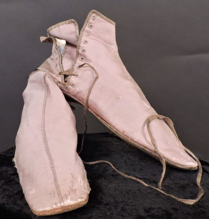 1840s fashion | All The Pretty Dresses: 1840's Side Lacing Ankle Boots
