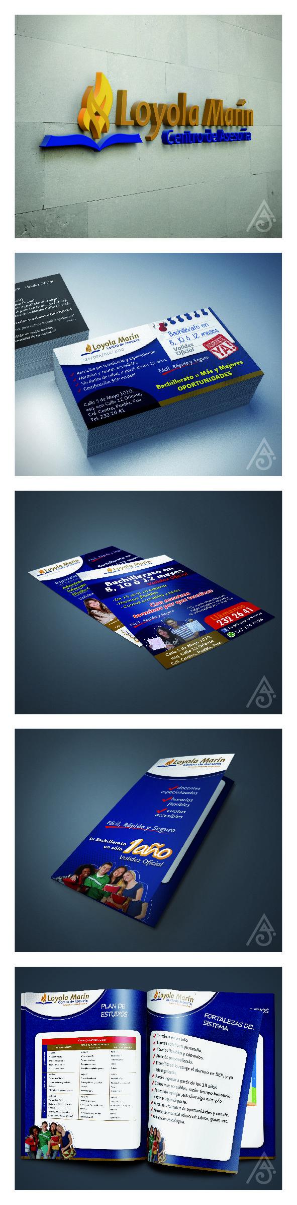 Diseño de Identidad Visual para preparatoria abierta.
