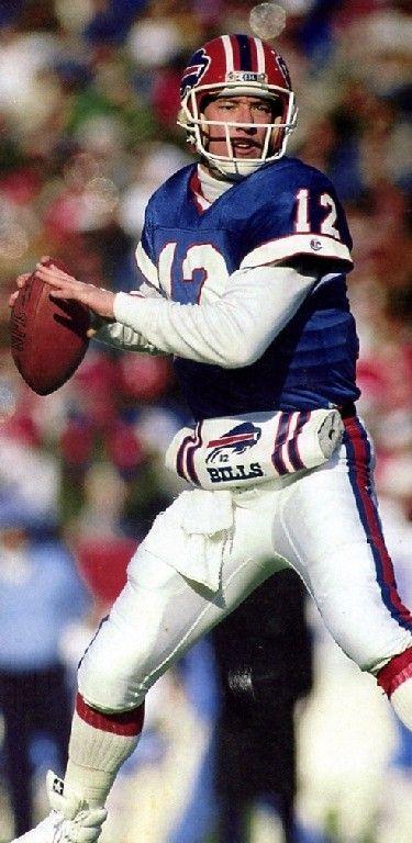 Jim Kelly # 12 Buffalo Bills QB  College:Miami(FL)