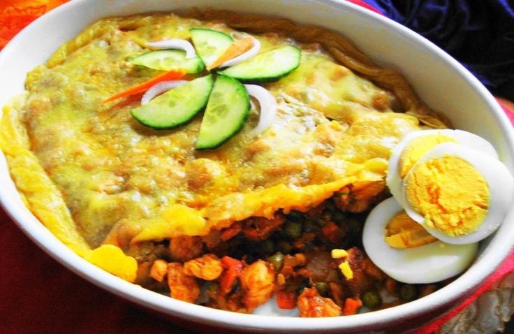 Pastei Surinam Trafasie (luxe pastei voor bij rijst)