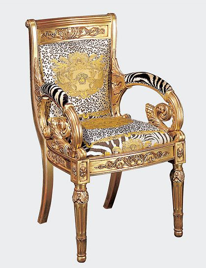 Delightful Versace Home   Sedia Heritage ~ This Would Be Quite The Anomaly In My Home.