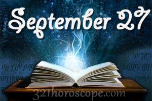 September 27 Sign | September 27 Birthday horoscope - zodiac sign for September 27th