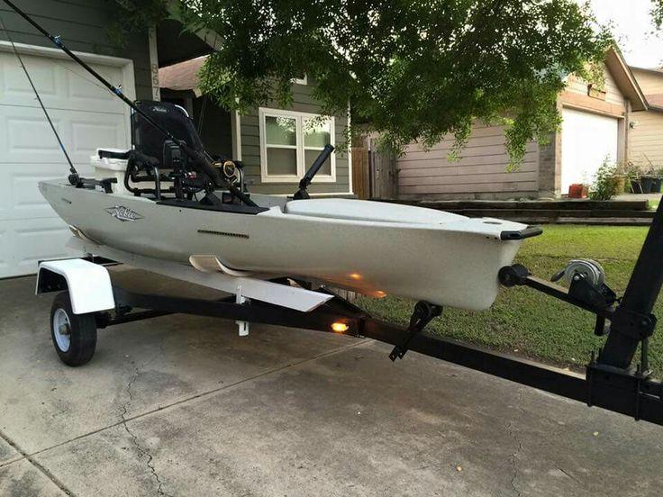 283 best fishing kayak gear equipments images on for Hobie fishing kayak