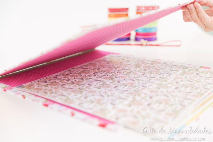 Organizador de papeles de diseño y para decoupage