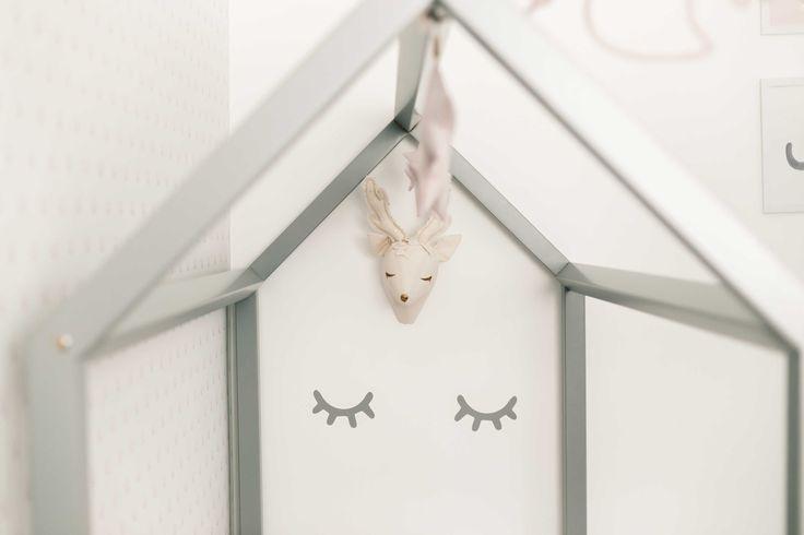 Cute Deer Head Decor | Troféu de Caça Cervo Decor