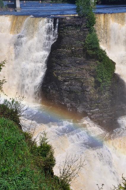 Kakabeka Falls Provincial Park, Ontario via Flickr.