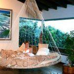 Yatak hamaklı kapalı balkon modeli
