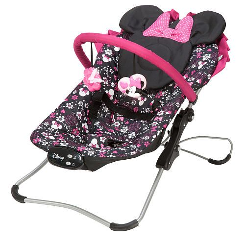 "Disney Baby Snug Fit Folding Bouncer - Minnie Pop - Disney - Babies ""R"" Us"