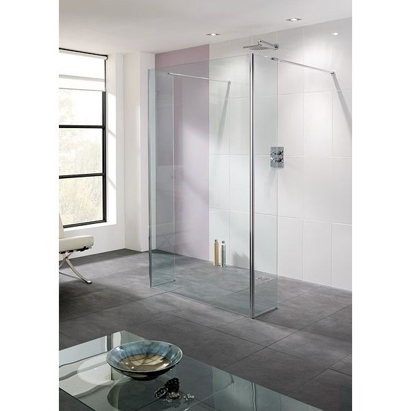 Shower Screen With 2 Baypass Panels Shower Enclosure Wet Room Shower Shower Panels