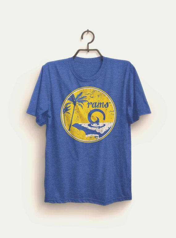 Los Angeles Rams Shirt LA RAMS by ZINOFRESH on Etsy