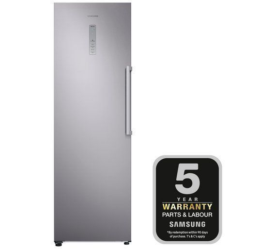 Buy Samsung RZ32M7120SA/EU Tall Freezer - Silver at Argos.co.uk, visit Argos.co.uk to shop online for Freezers, Large kitchen appliances, Home and garden #HomeAppliancesFreezers #SamsungHomeAppliances