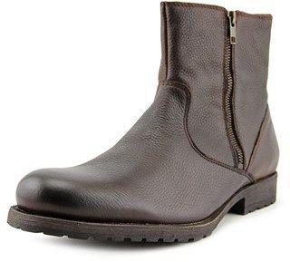 Aldo Vidovic Men Round Toe Leather Brown Boot.