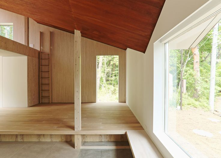 Mount Fuji house by Hiroki Tominaga Atelier has a unique angular roof that protects the home from heavy snow Mount Fuji House by Hiroki Tominaga Atelier – Inhabitat - Green Design, Innovation, Architecture, Green Building