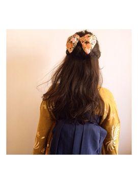 【2016年冬トレンド】和装袴スタイル…*/Mahalo for beauty マハロ フォー ビューティーのヘアスタイル