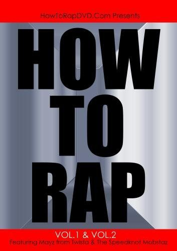"How To Rap Volume 1 ""How To Freestyle"" & Volume 2 ""How To Write A Rap Song"" Featuring Multi-Platinum Artist Mayz From Twista And The Speedknot Mobstaz. HowToRapDVD.comThis product is manufactured on demand using DVD-R recordable media..."