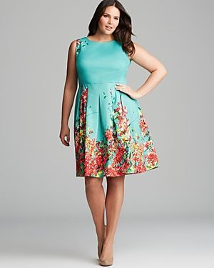 nice 5 blue plus size dresses for spring outfits
