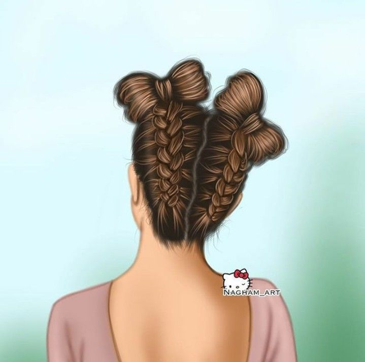 Pin By Hind Awad On Girly M Anime Hair Digital Art Girl How To Draw Hair