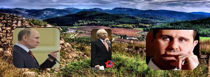Putin e le Alture del Golan Liberate