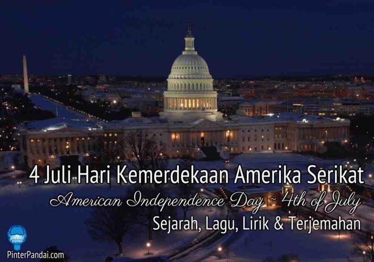4 Juli Hari Kemerdekaan Amerika Serikat Hari Kemerdekaan Amerika Serikat atau yang juga sering disebut dengan Fourth of July adalah hari libur nasional. Dan juga untuk merayakan Deklarasi Kemerdekaan Amerika Serikat dari Kerajaan Bitania Raya yang dilakukan pada tanggal 4 Juli 1776.   Penulis Utama Deklarasi Kemerdekaan Amerika Serikat Kebanyakan orang Amerika tidak tahu Thomas Jefferson adalah penulis utama