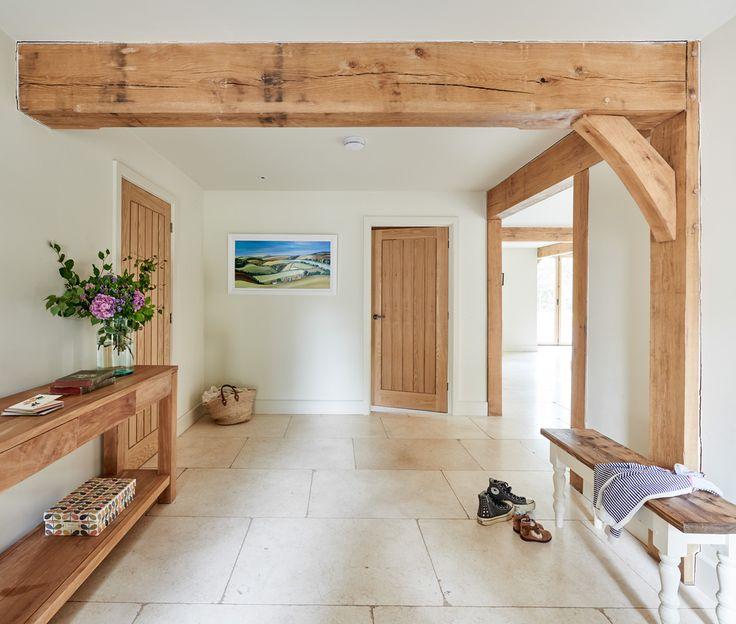 Berkshire Barn - Border Oak - oak framed houses, oak framed garages and structures.
