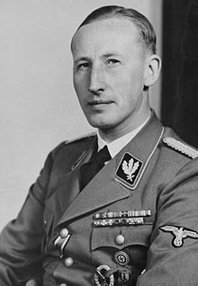 Reinhard Tristan Eugen Heydrich  was a high-ranking German Nazi official during World War II, and one of the main architects of the Holocaust. He was SS-Obergruppenführer (General) and General der Polizei, chief of the Reich Main Security Office. Heydrich chaired the January 1942 Wannsee Conference, which laid out plans for the final solution to the Jewish Question—the deportation and extermination of all Jews in German-occupied territory.
