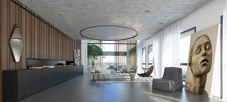minimalist penthouse Things For My New Place Pinterest