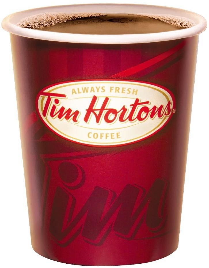 """Tim Horton's coffee tasted more """"authentic"""" in Canada."""