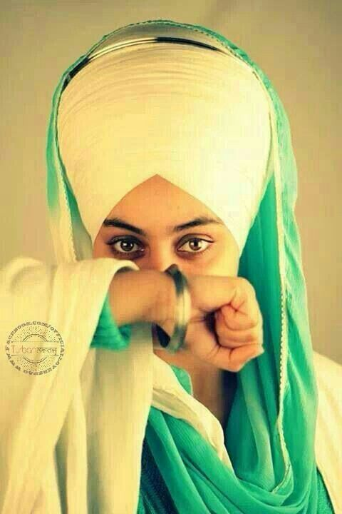 Sikh girl <3 Thank you fr sharing it w me baby bhai <3 Sikh are God's warriors, defenders of truth and justice.