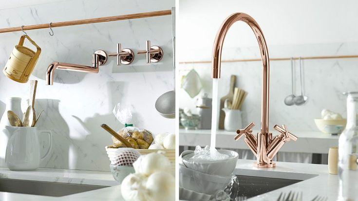 pretty taps copper