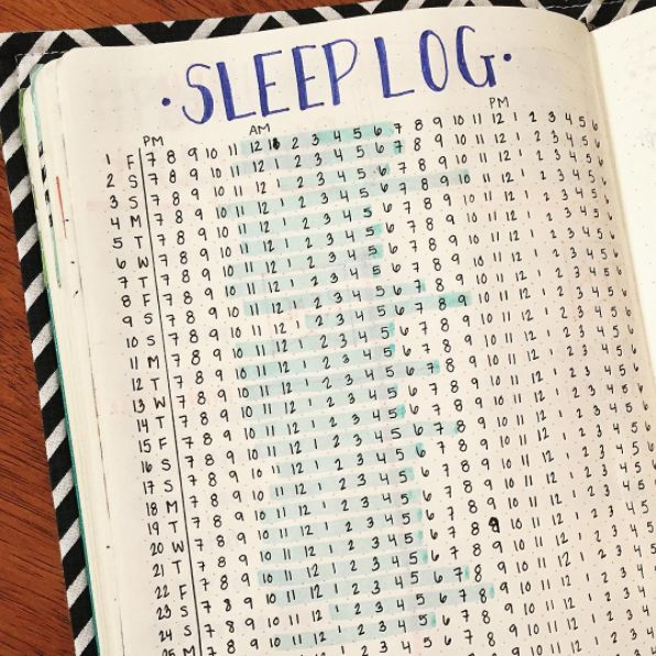 This sleep tracker to make sure you're getting enough Z's: | 21 Genius Ways To Track Your Mental Health